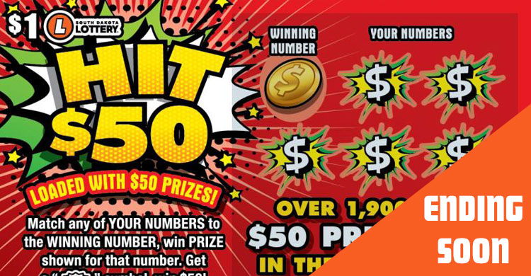 Top Scratch Ticket Prizes Remaining | SD Lottery